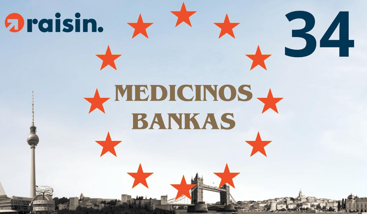 Partner Bank Number 34: Medicinos Bankas