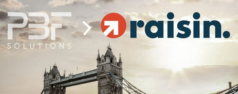 Raisin Acquires PBF Solutions: We Want to Make Saving in the UK More Attractive